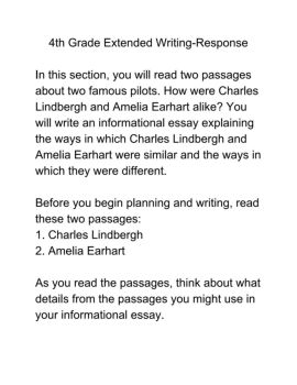 th grade extended writing passages pages text version view