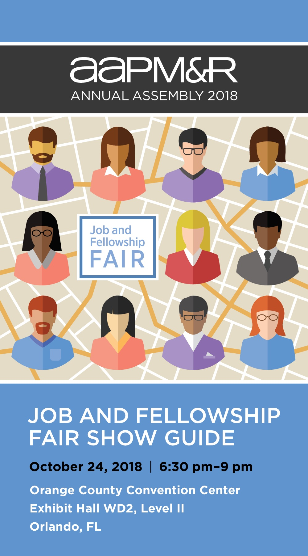 AAPM&R 2018 Job and Fellowship Fair Show Guide Pages 1 - 38