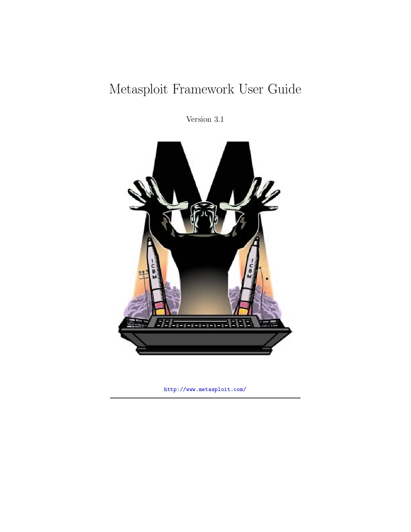 Metasploit Framework User Guide - EAS Home Pages 1 - 30 - Text