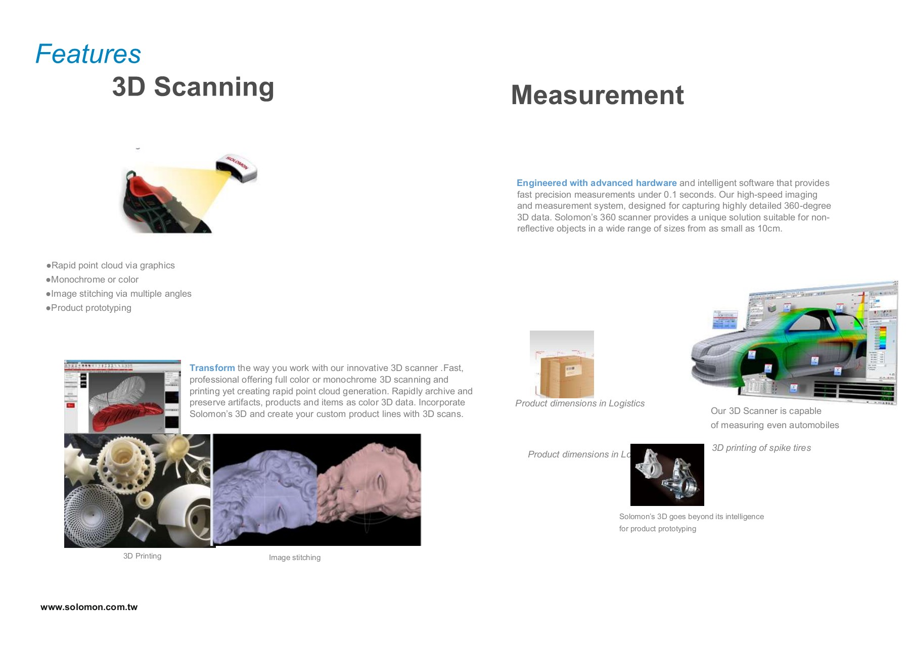 Solomon 3D Scanner Pages 1 - 5 - Text Version | AnyFlip