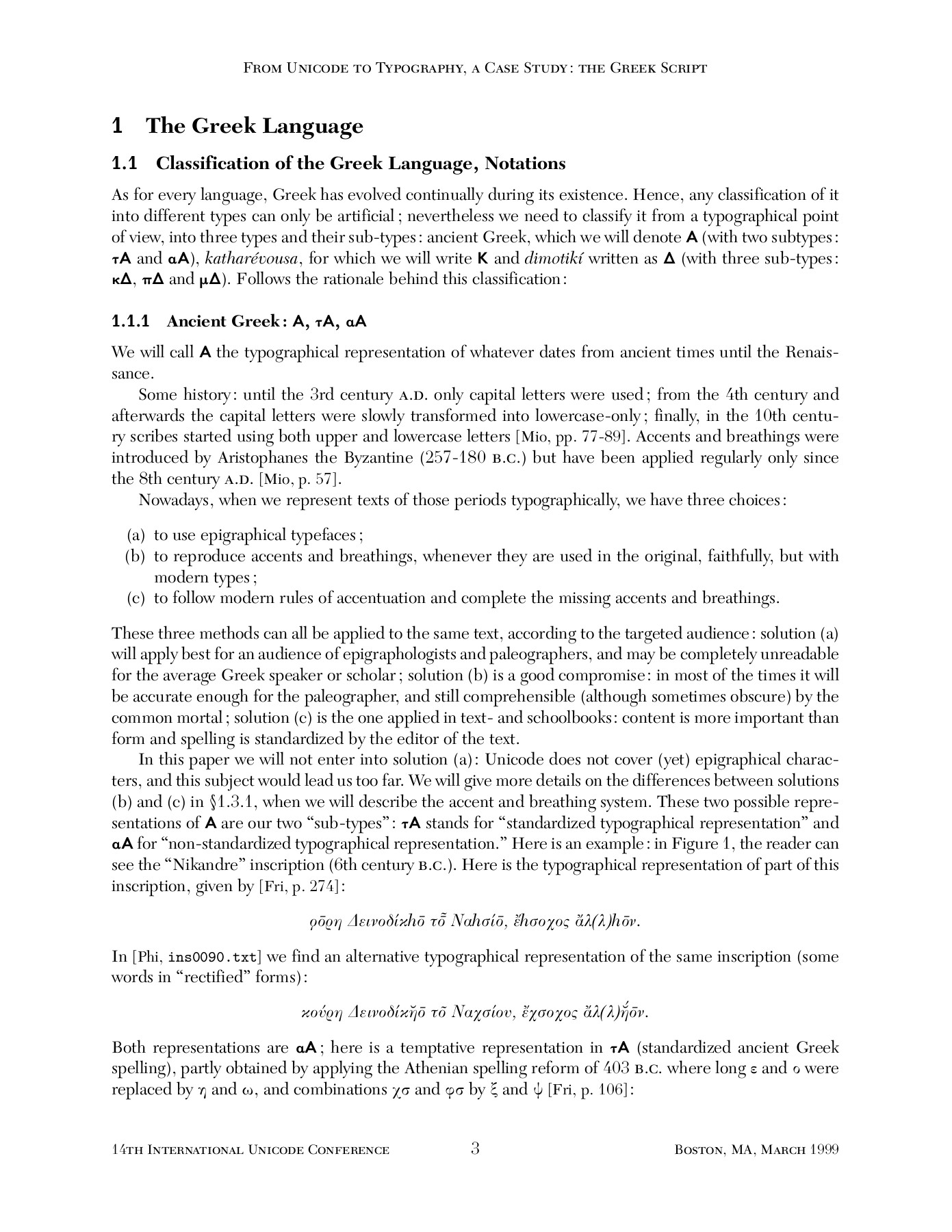 d7ec4030c5a From Unicode to Typography, a Case Study: the Greek Script Pages 1 ...