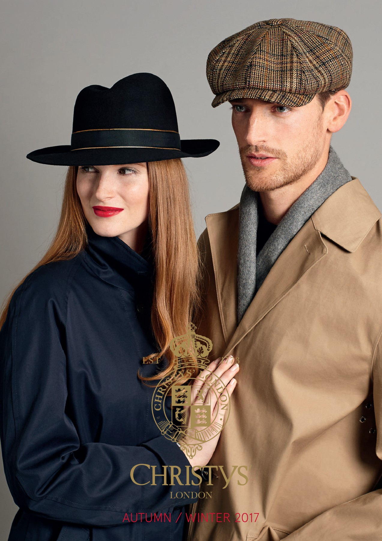 f2f57fd990d630 Christys' London® - Christys' Hats Autumn-Winter 2017 Collection ...