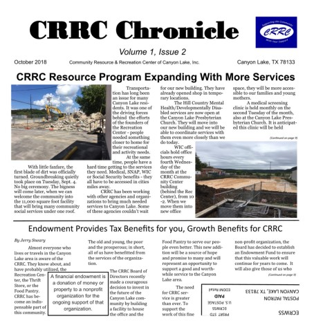 CRRC Chronicle Oct 2018 Pages 1 12 Text Version AnyFlip