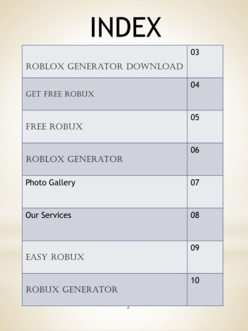 How To Get Robux For Free Pages 1 10 Text Version Anyflip