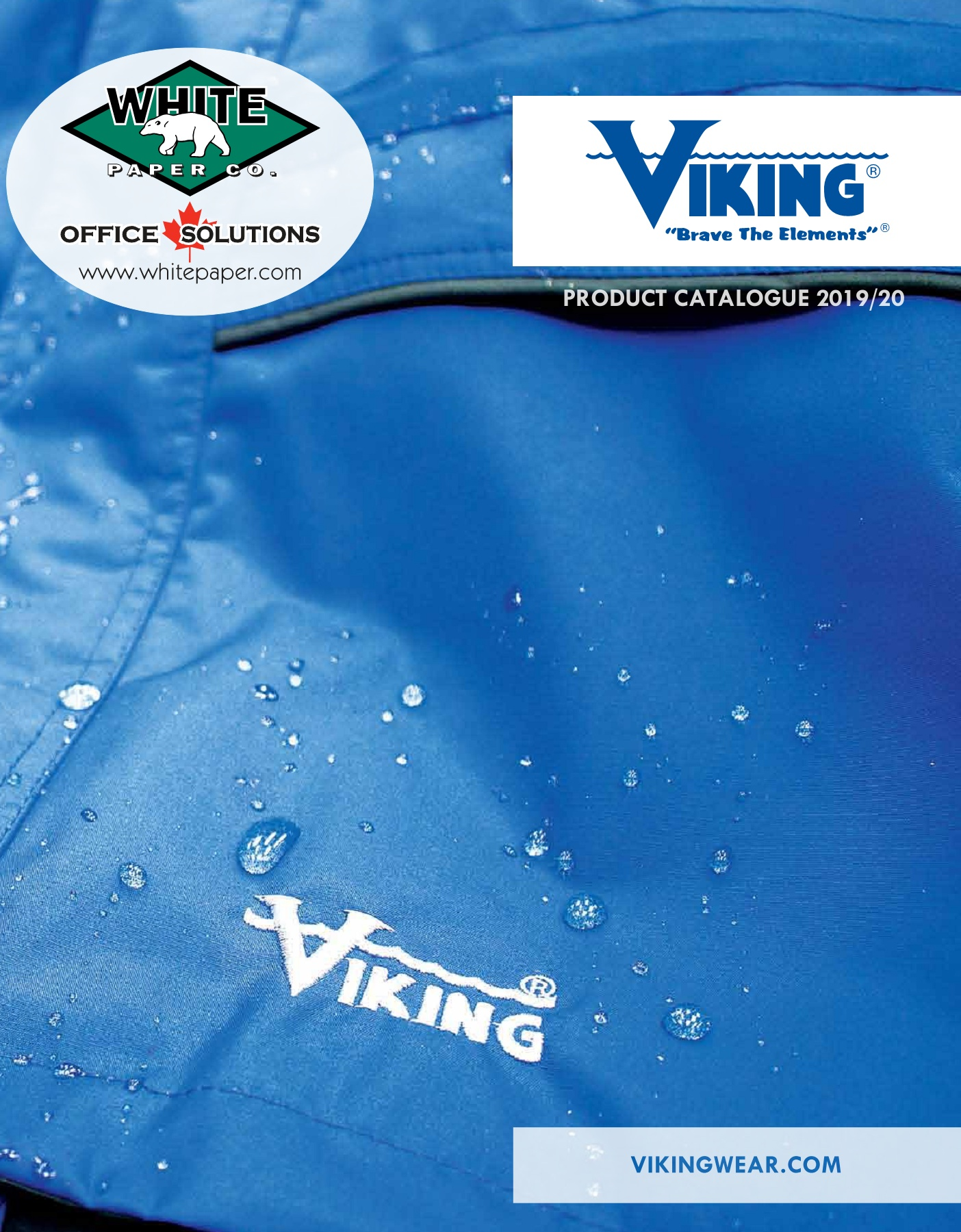 VIKING 3907FRWJ-M Viking FR Insulated 300D Jkt Blk