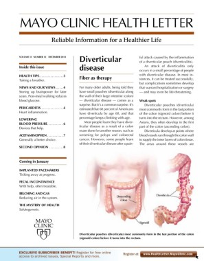 MAYO CLINIC HEALTH LETTER Pages 1 - 8 - Text Version | AnyFlip