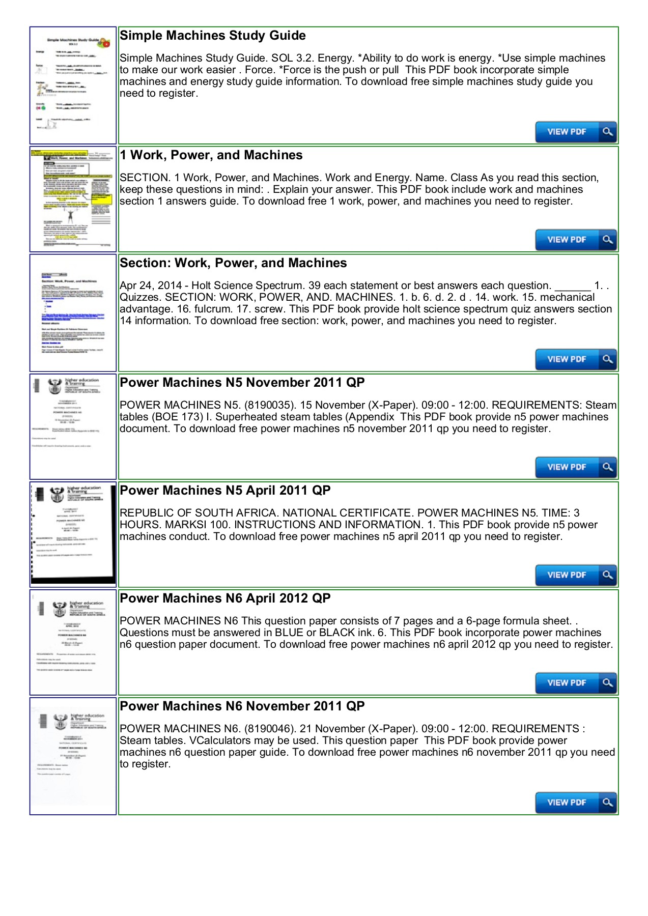 Power Machines N5 Study Guide - nocRead Com Pages 1 - 4 - Text