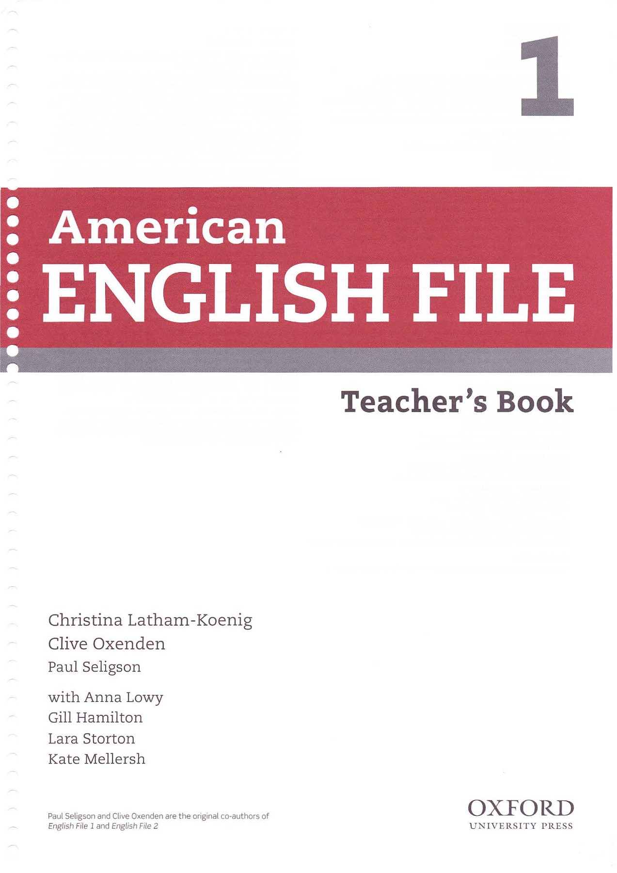 American English File 1 Teachers Book 2nd Edition Pages 251 - 290