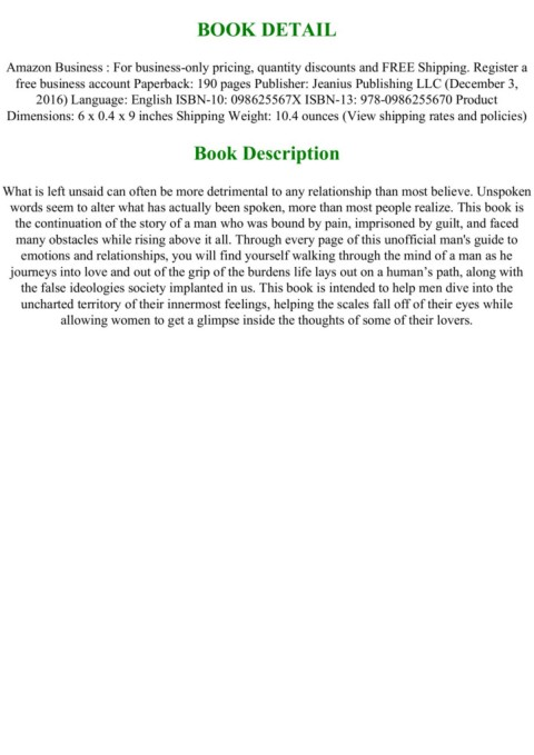 Pdf Download Unspoken Feelings Of A Gentleman Ii Full Pages Pages 1 3 Text Version Anyflip