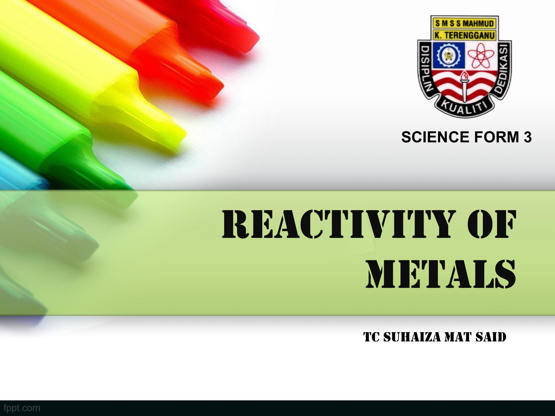 Chapter 4 Reactivity Of Metals Pages 1 15 Text Version Anyflip