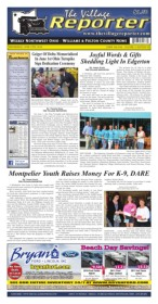 The Village Reporter - June 13th, 2018 Pages 1 - 36 - Text