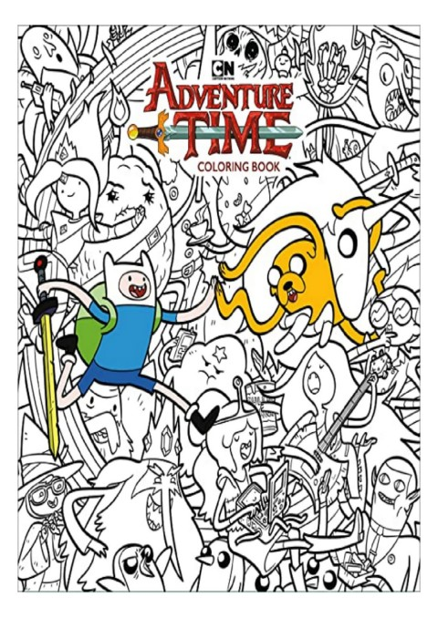 Download Adventure Time Adult Coloring Book Volume 1 For Android-Flip EBook  Pages 1 - 3AnyFlip AnyFlip