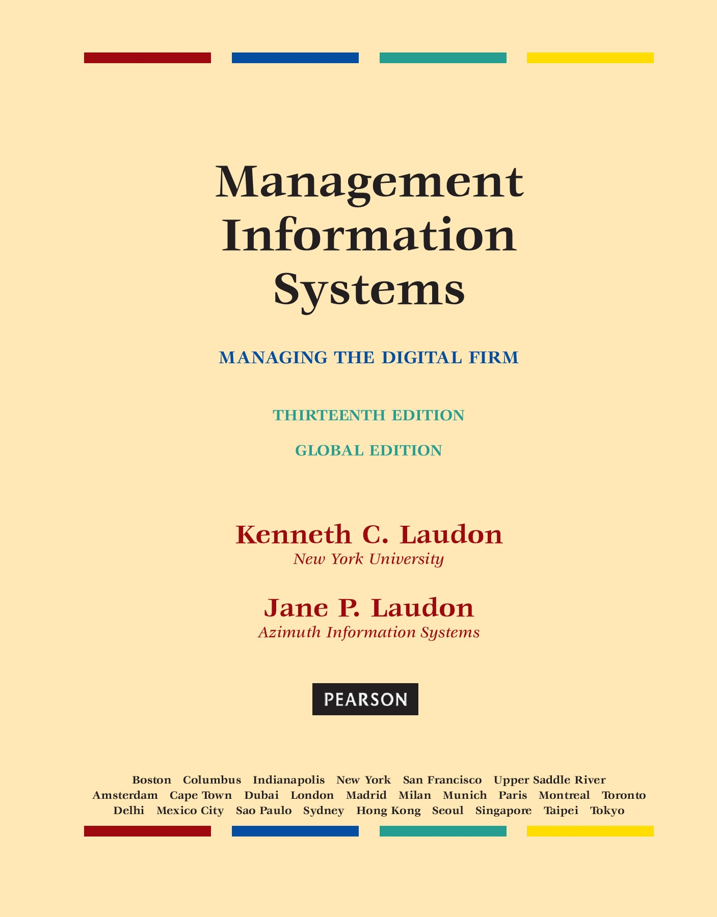 Management Information Systems - Managing the Digital Firm Pages 601