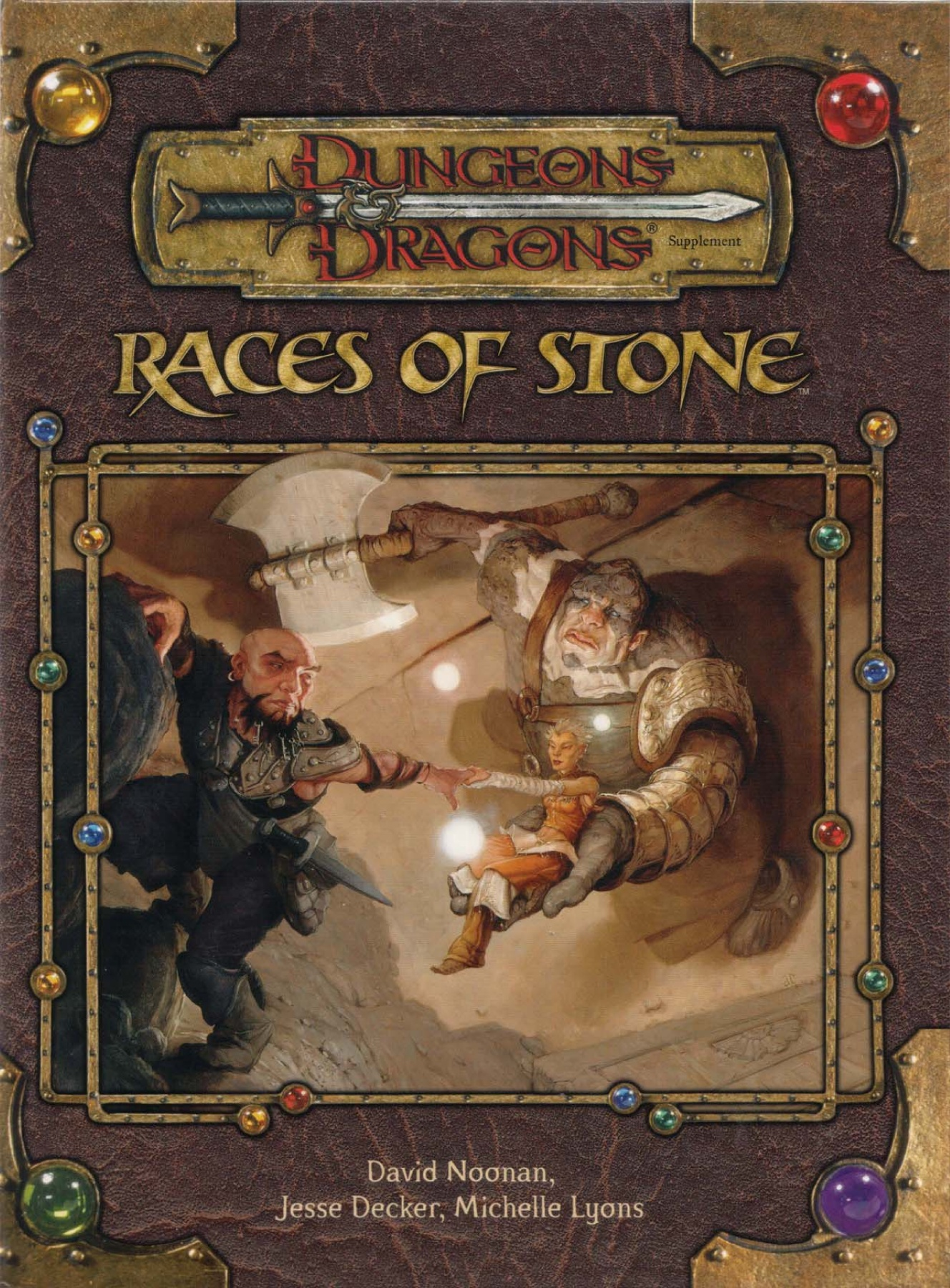 D&D 3 5 - Races of Stone [OEF] Pages 1 - 50 - Text Version