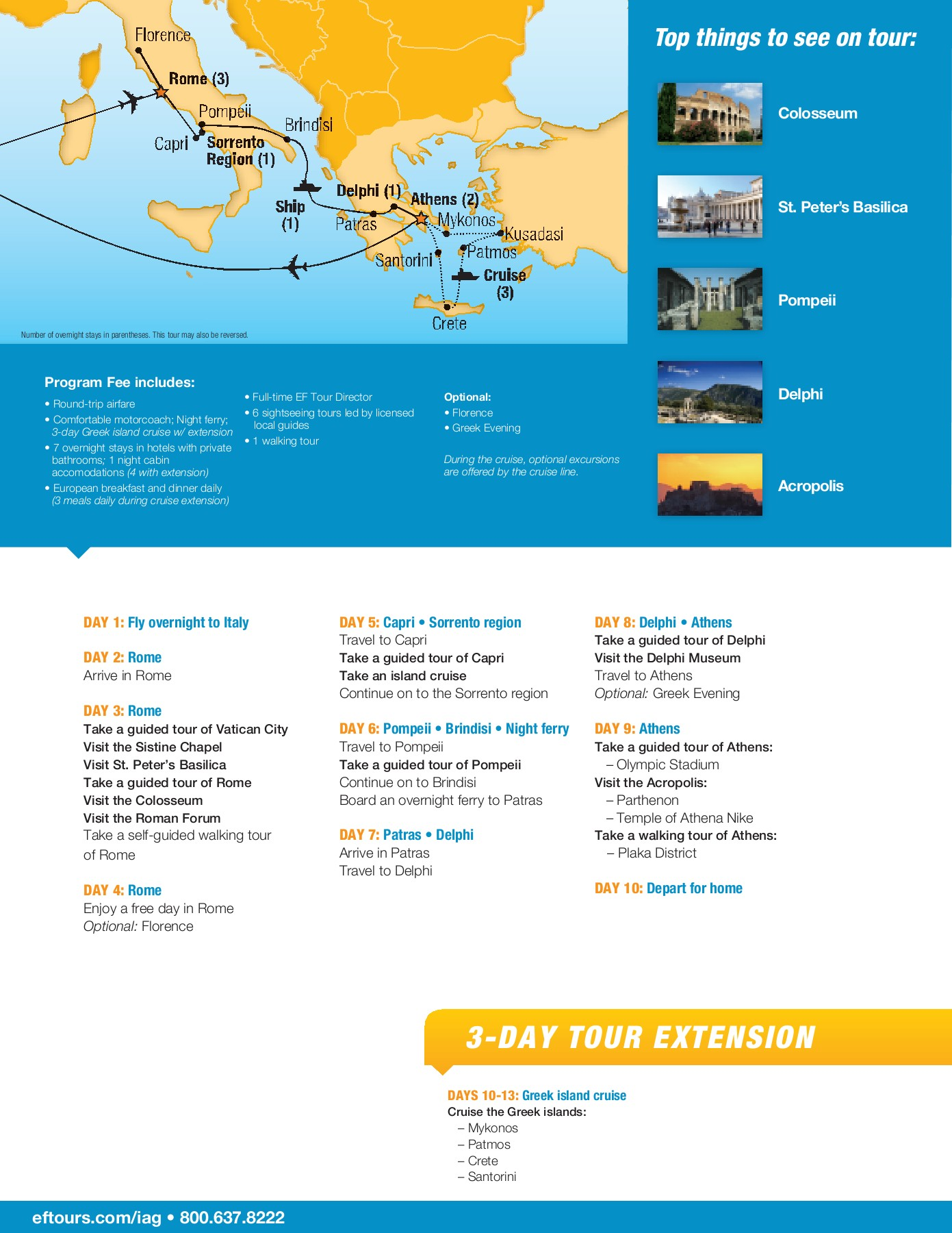 Italy Greece   EF Educational Tours Flip eBook Pages 20   20 ...