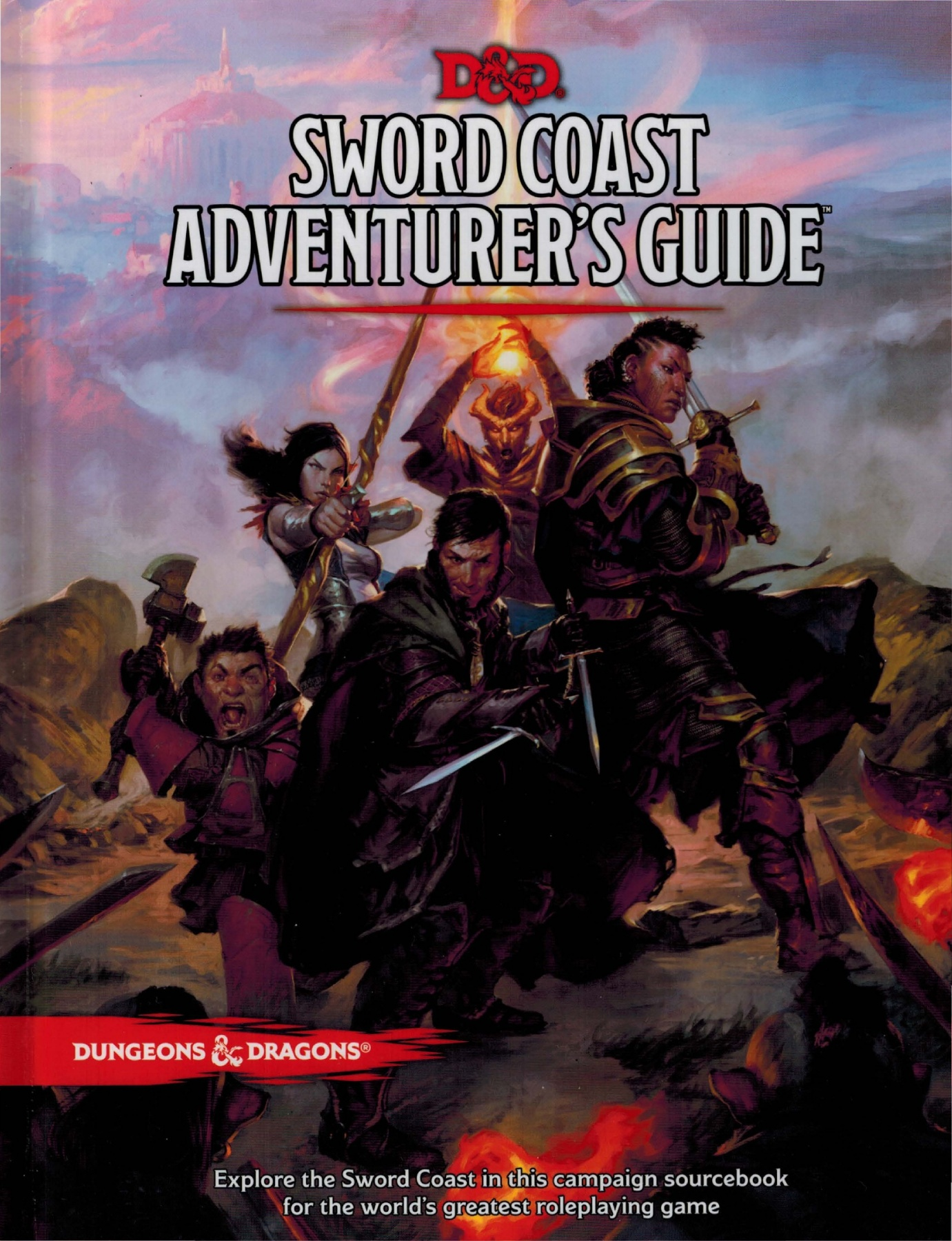Image result for Sword Coast Adventurers Guide