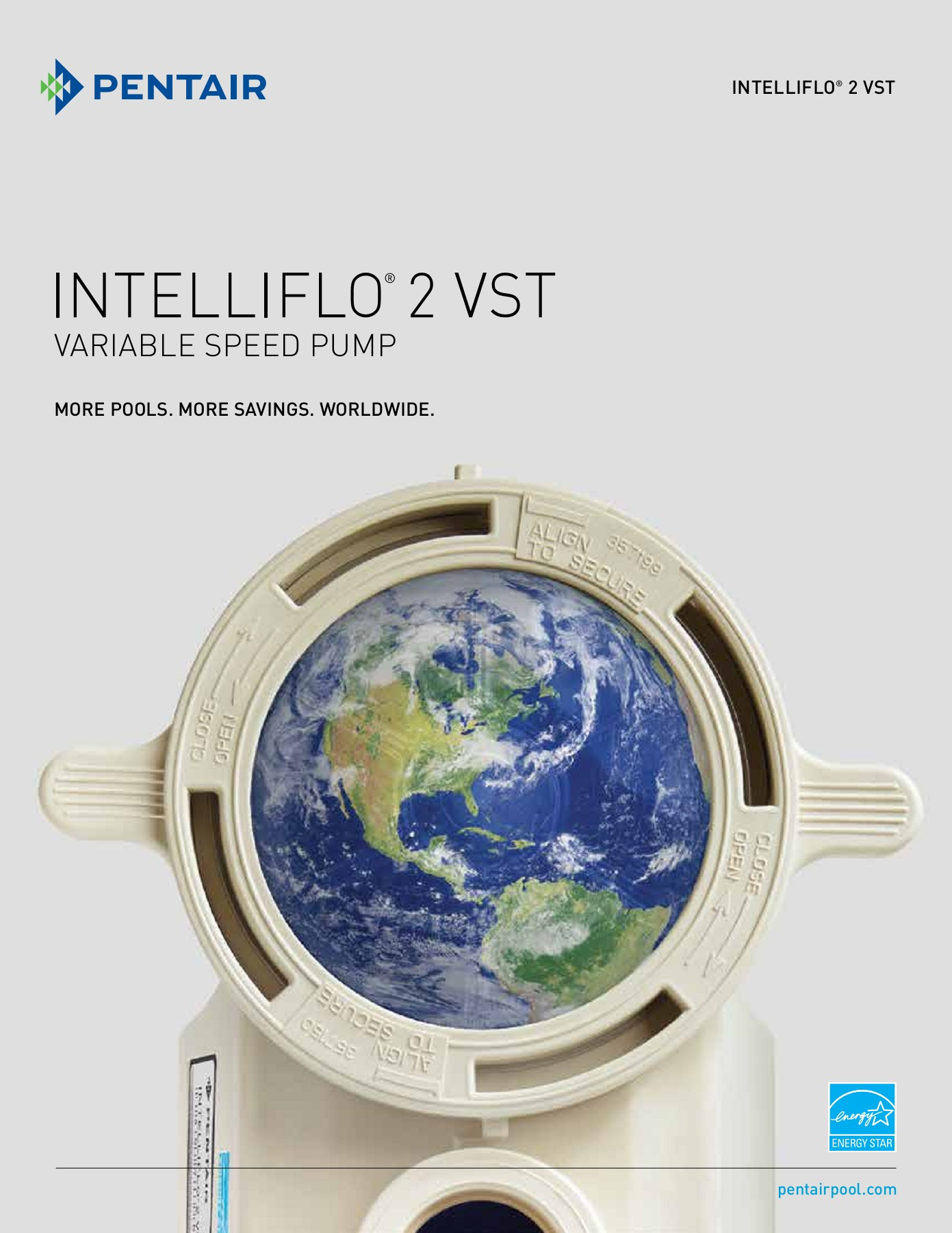 Pentair IntelliFlo Variable Speed Pump Pages 1 - 8 - Text