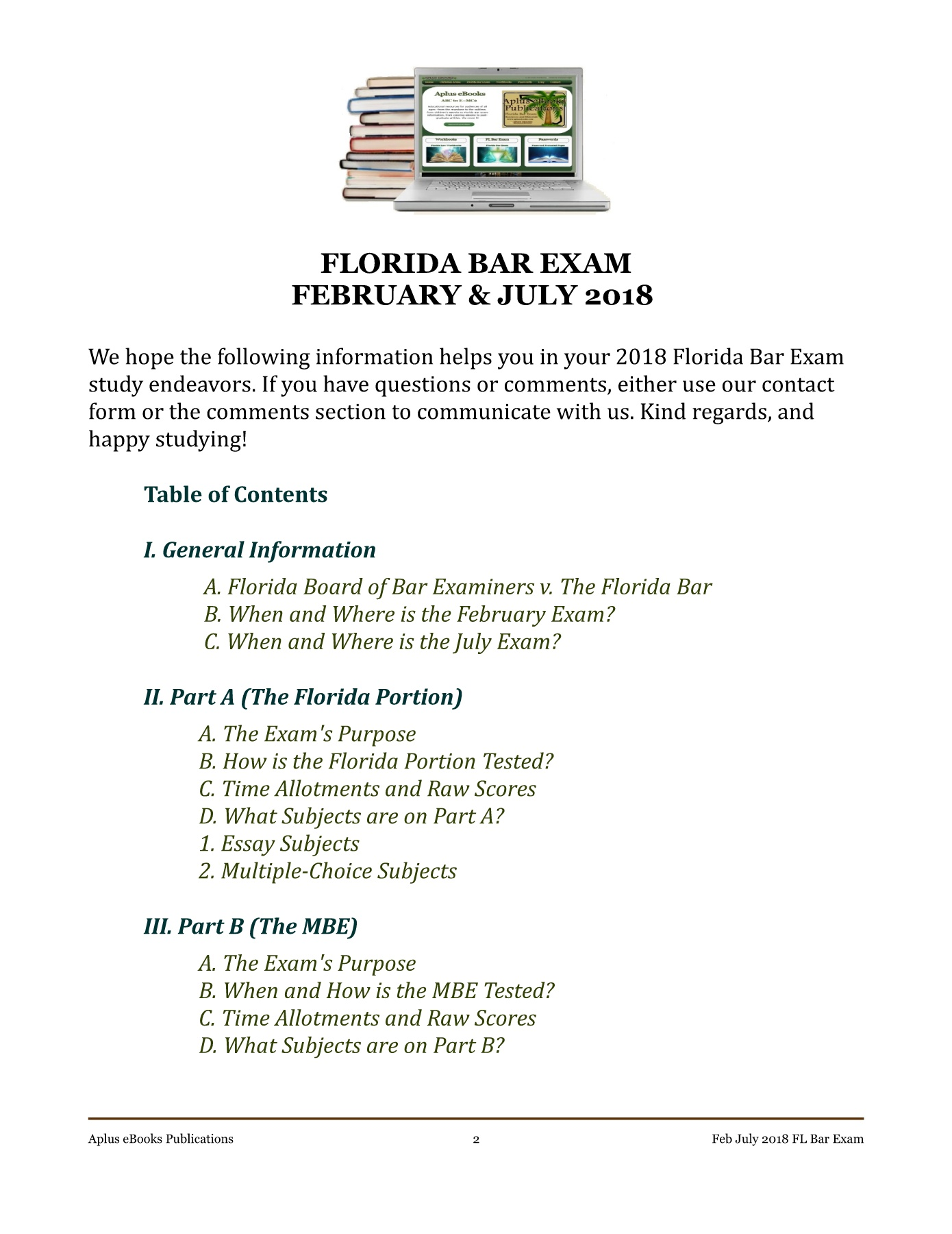 2018 Feb July FL Bar Exam FlipBook Pages 1 - 12 - Text Version | AnyFlip