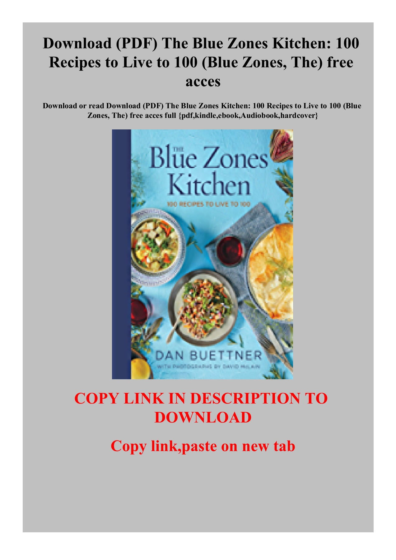 Download Pdf The Blue Zones Kitchen 100 Recipes To Live To 100 Blue Zones The Free Acces Lwuxeeahhe Flip Pdf Anyflip
