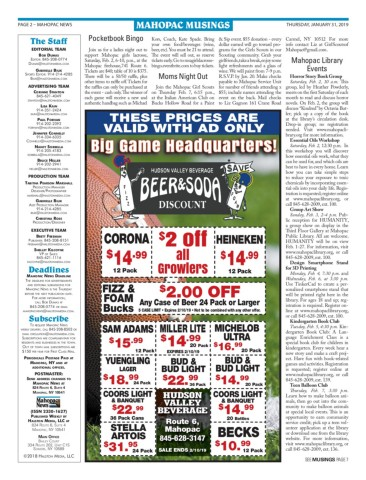 Mahopac News 1 31 19 Pages 1 28 Text Version Anyflip