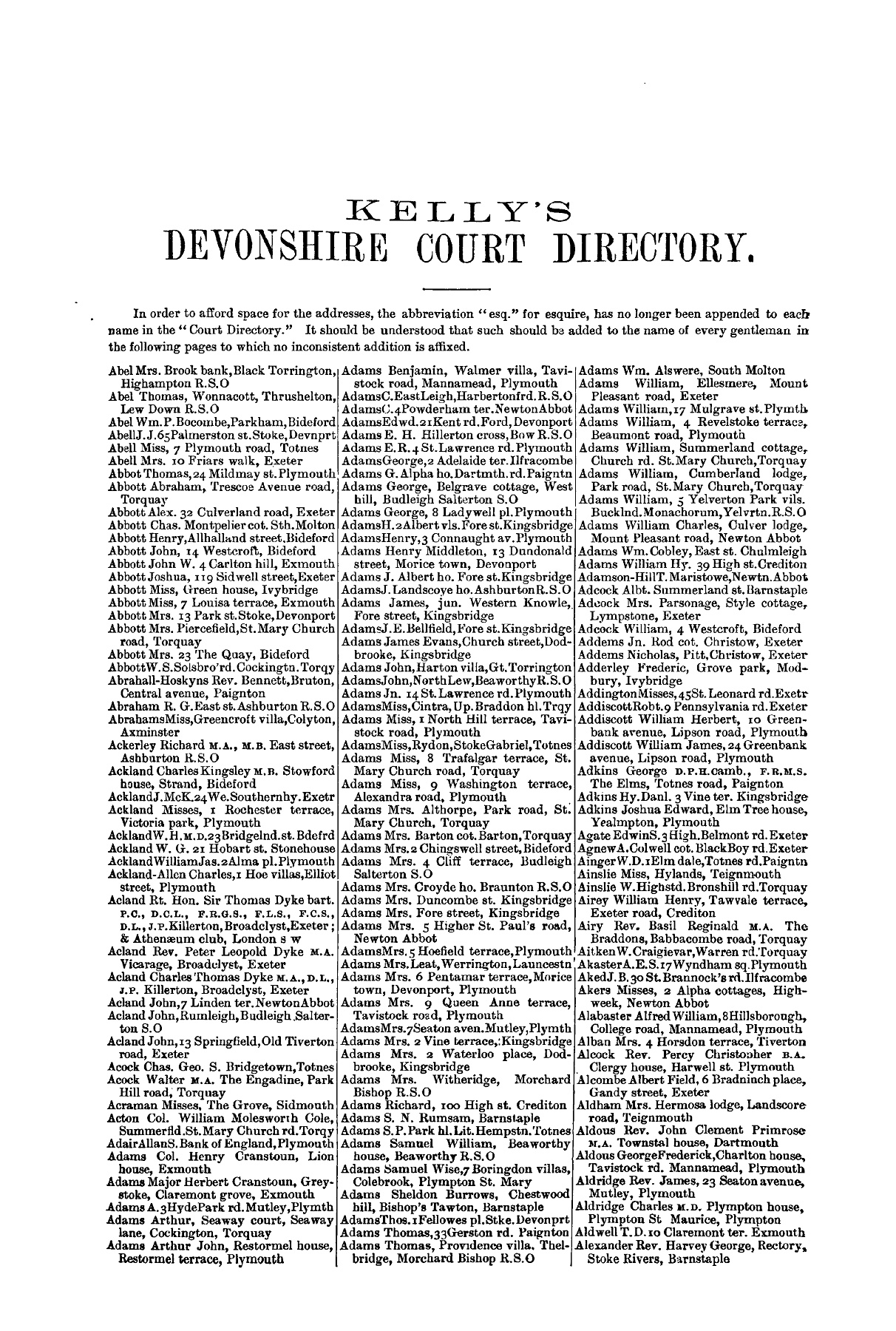 DEVONSHIRE - 1893 (2) Pages 201 - 250 - Text Version | AnyFlip