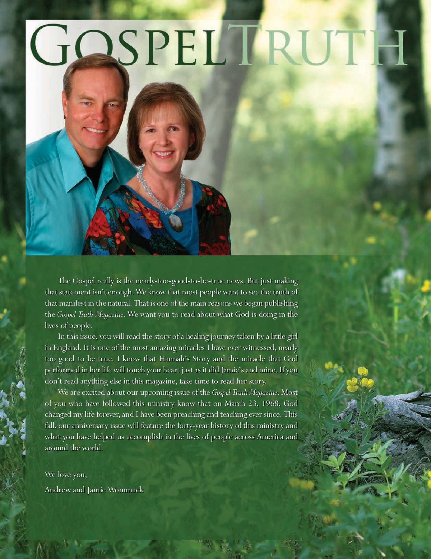 Andrew Wommack Beliefs gospeltruth - andrew wommack ministries international pages