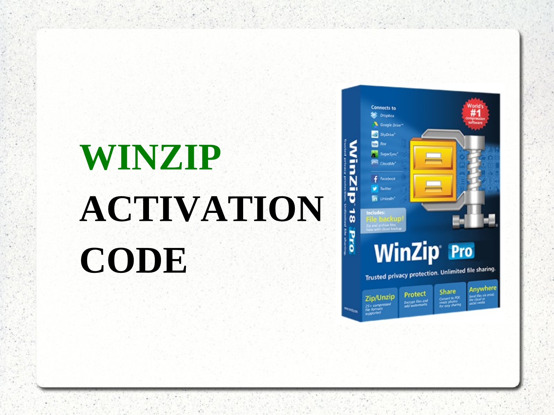 winzip activation codes free