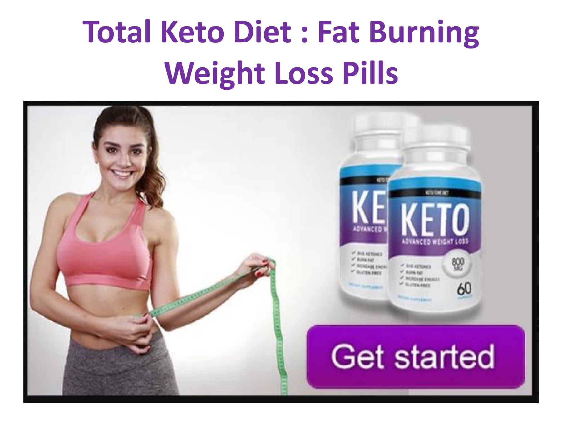 total keto diet pill real