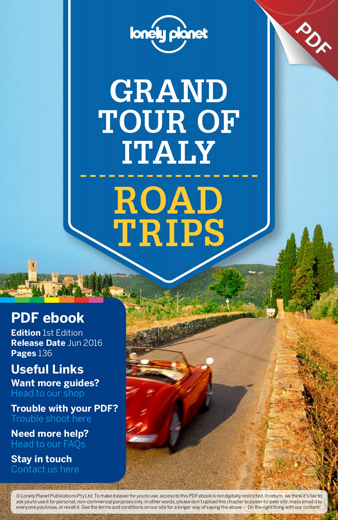 Azienda Agricola Porta Magenta grand tour of italy. road trips. pages 51 - 100 - text