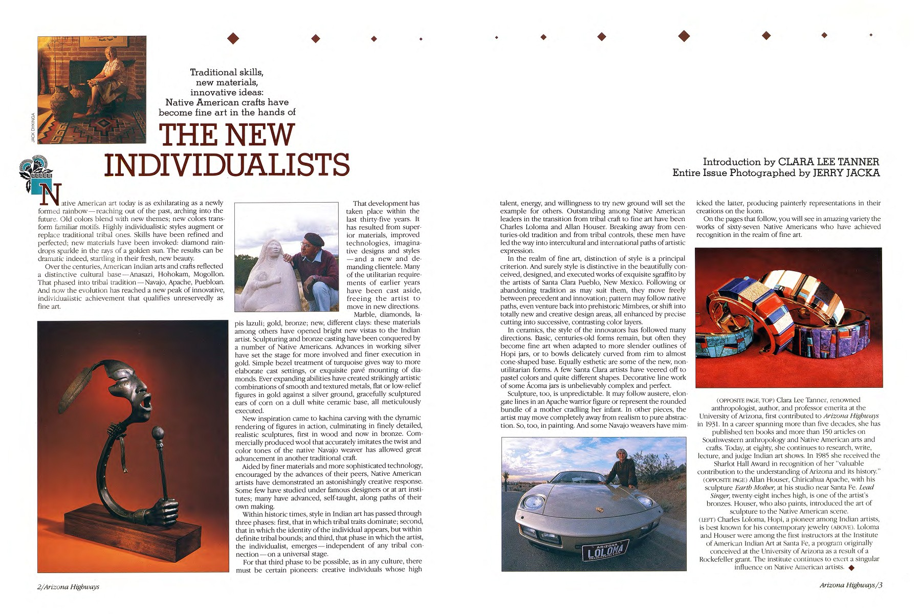 Arizona Highways 1986 - The New Individualists Pages 1 - 27