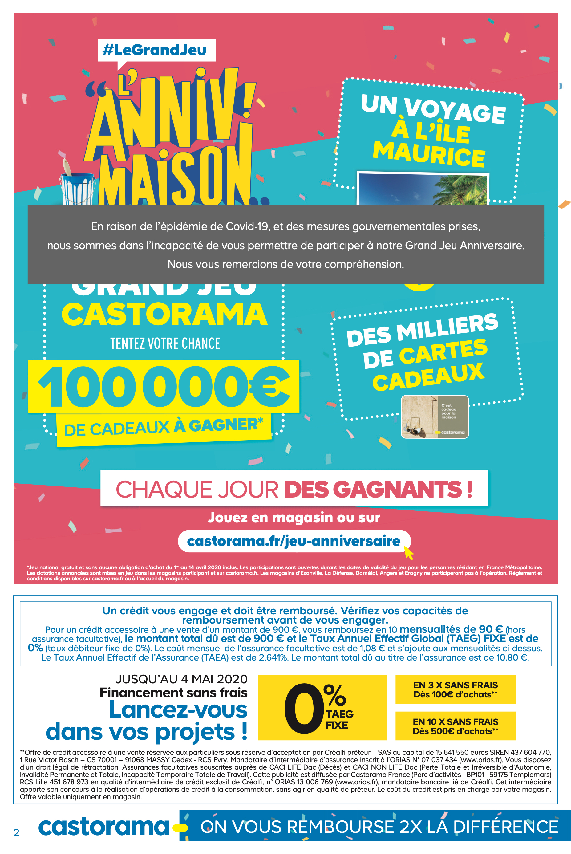 Castorama Chaise De Plage anniverssaire 1 - 2020 pages 1 - 32 - text version | anyflip