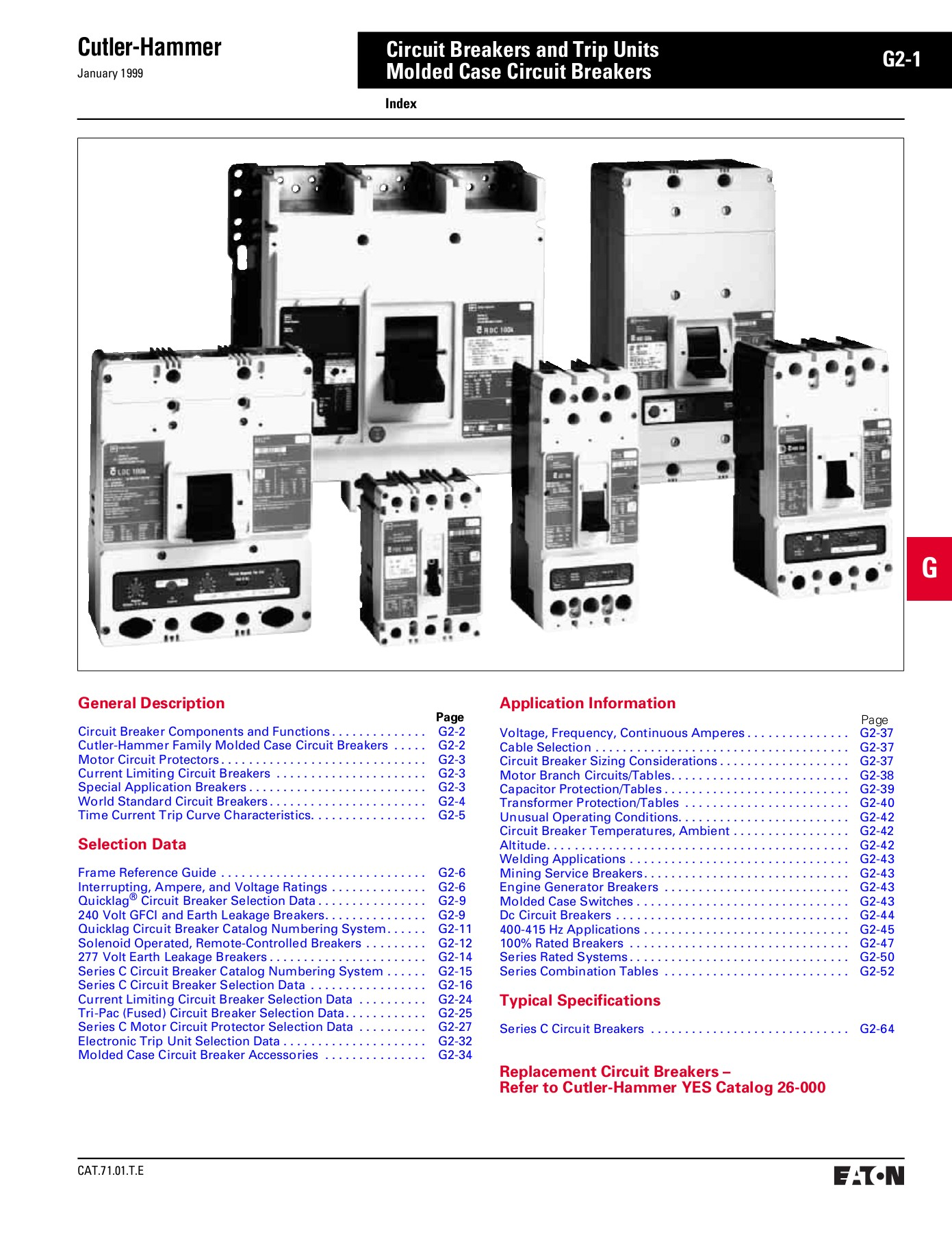 Cutler Hammer Circuit Breakers And Trip Units G2 1 Molded