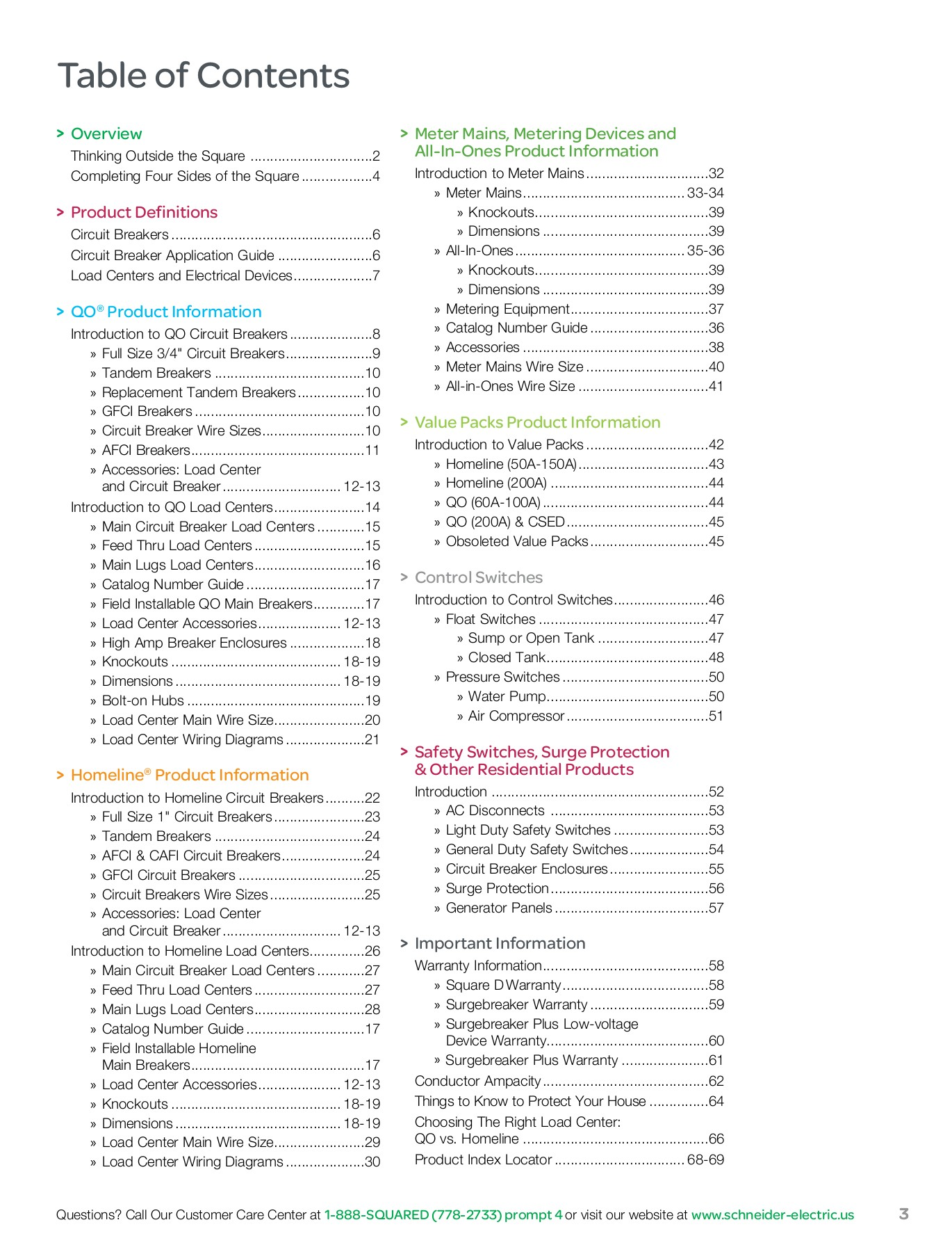 Retail Catalog - Schneider Electric Pages 51 - 72 - Text ... on