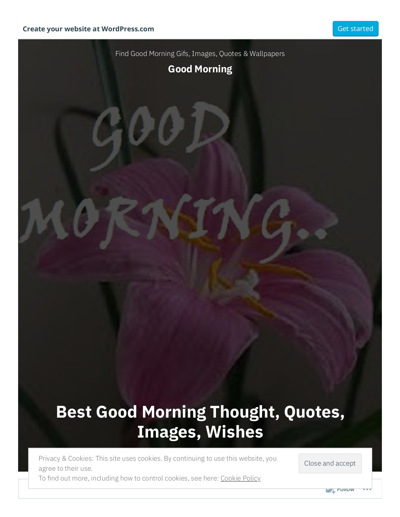 Best Good Morning Thought Quotes Images Wishes