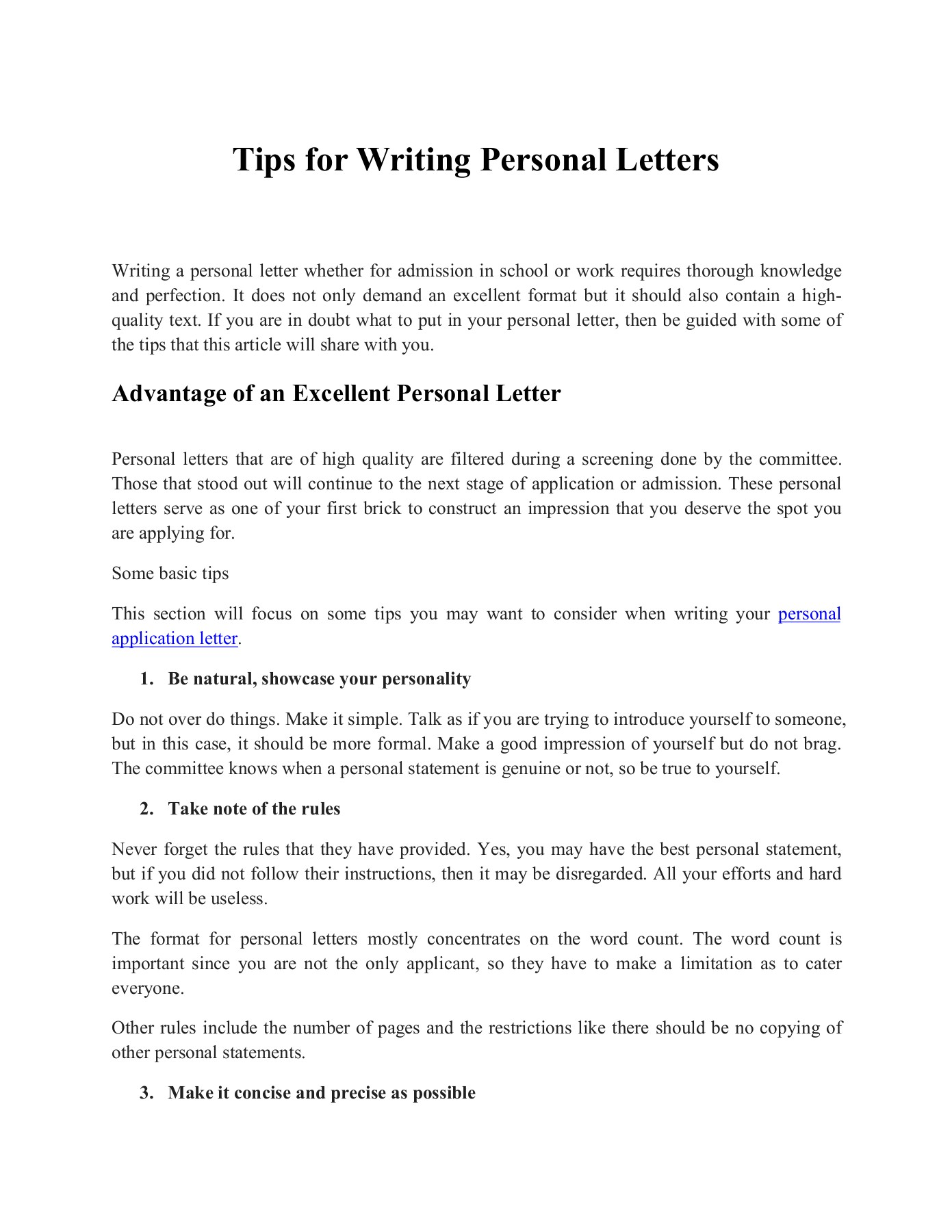 Writing A Personal Letter from online.anyflip.com