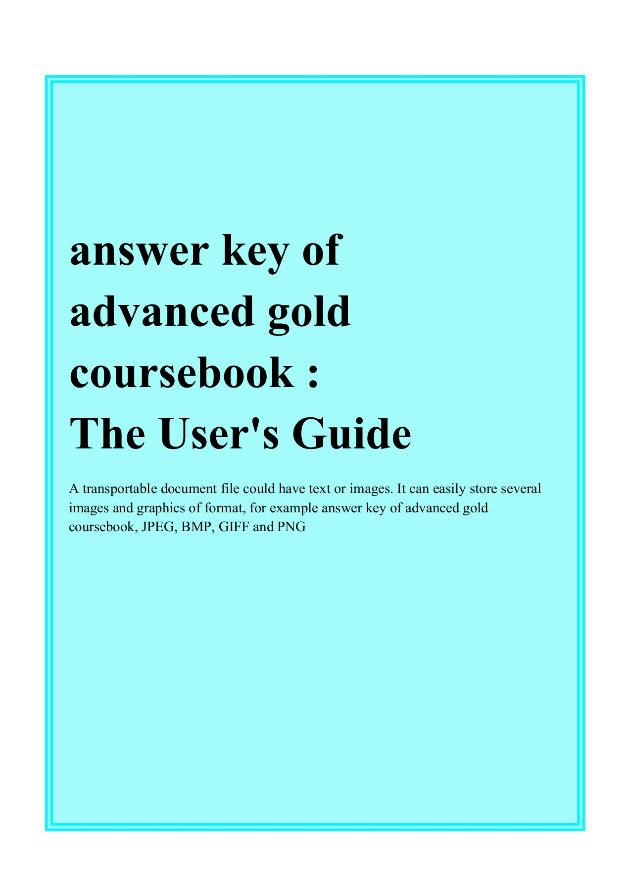 Answer Key Of Advanced Gold Coursebook Prodictionary Net Flip Ebook Pages 1 6 Anyflip Anyflip