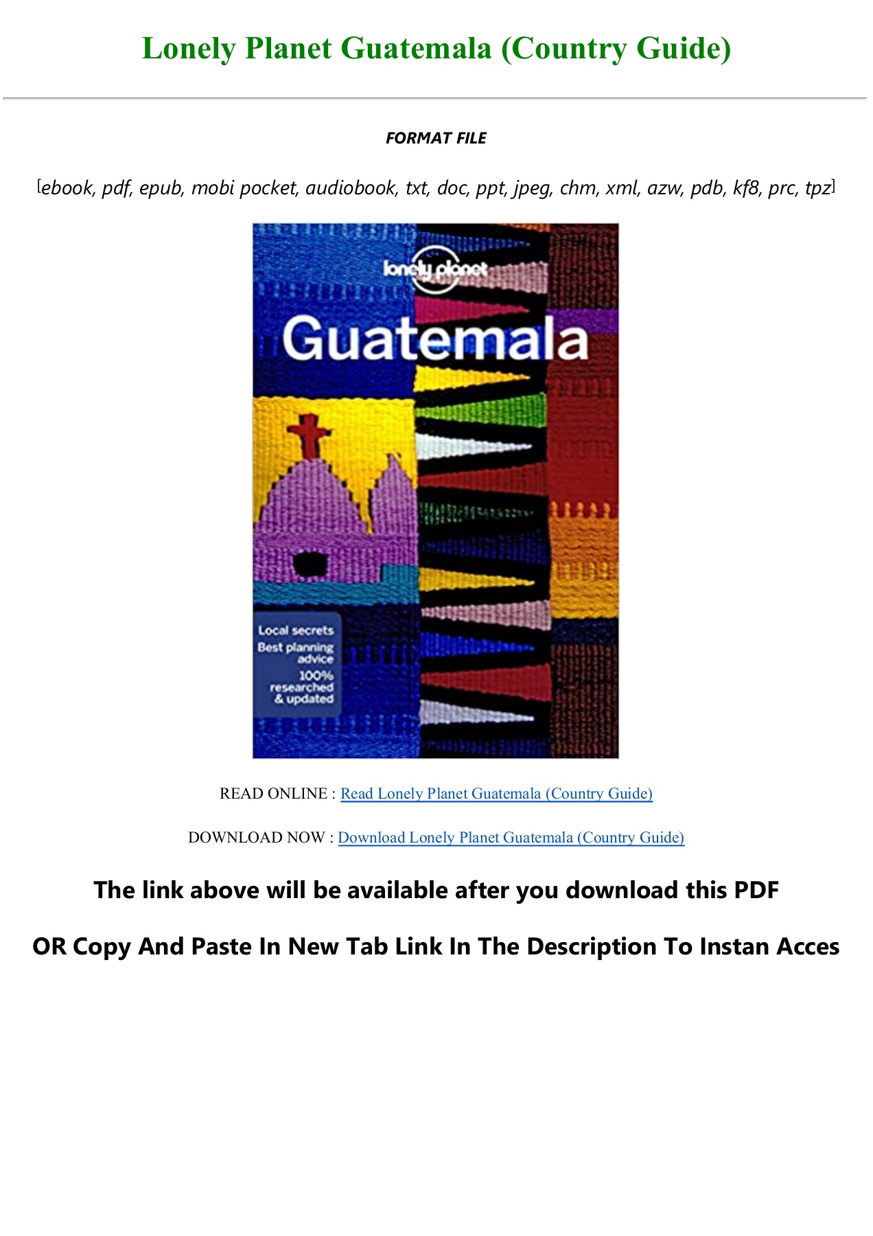 A Country Between PDF Free Download