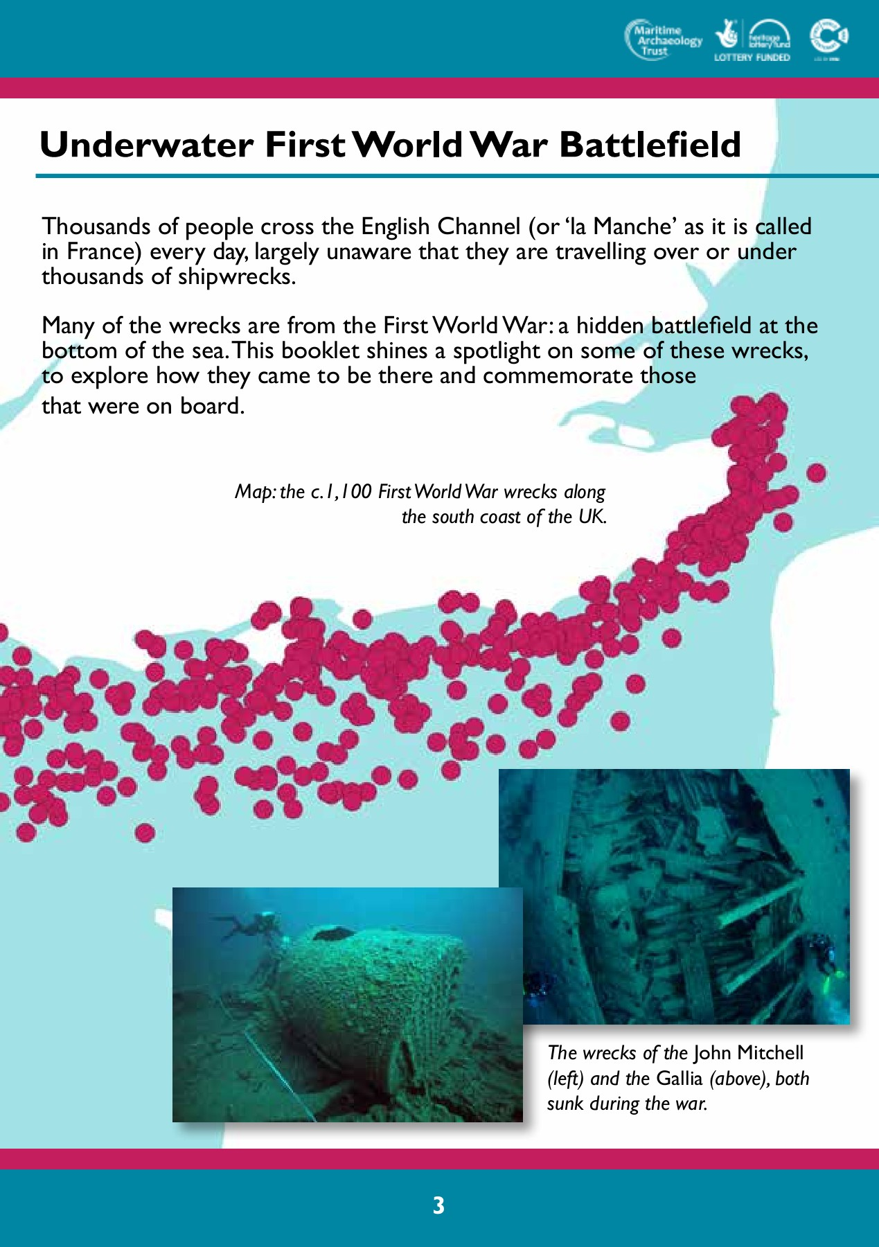 First World War Shipwrecks of the Channel Crossing Pages 1