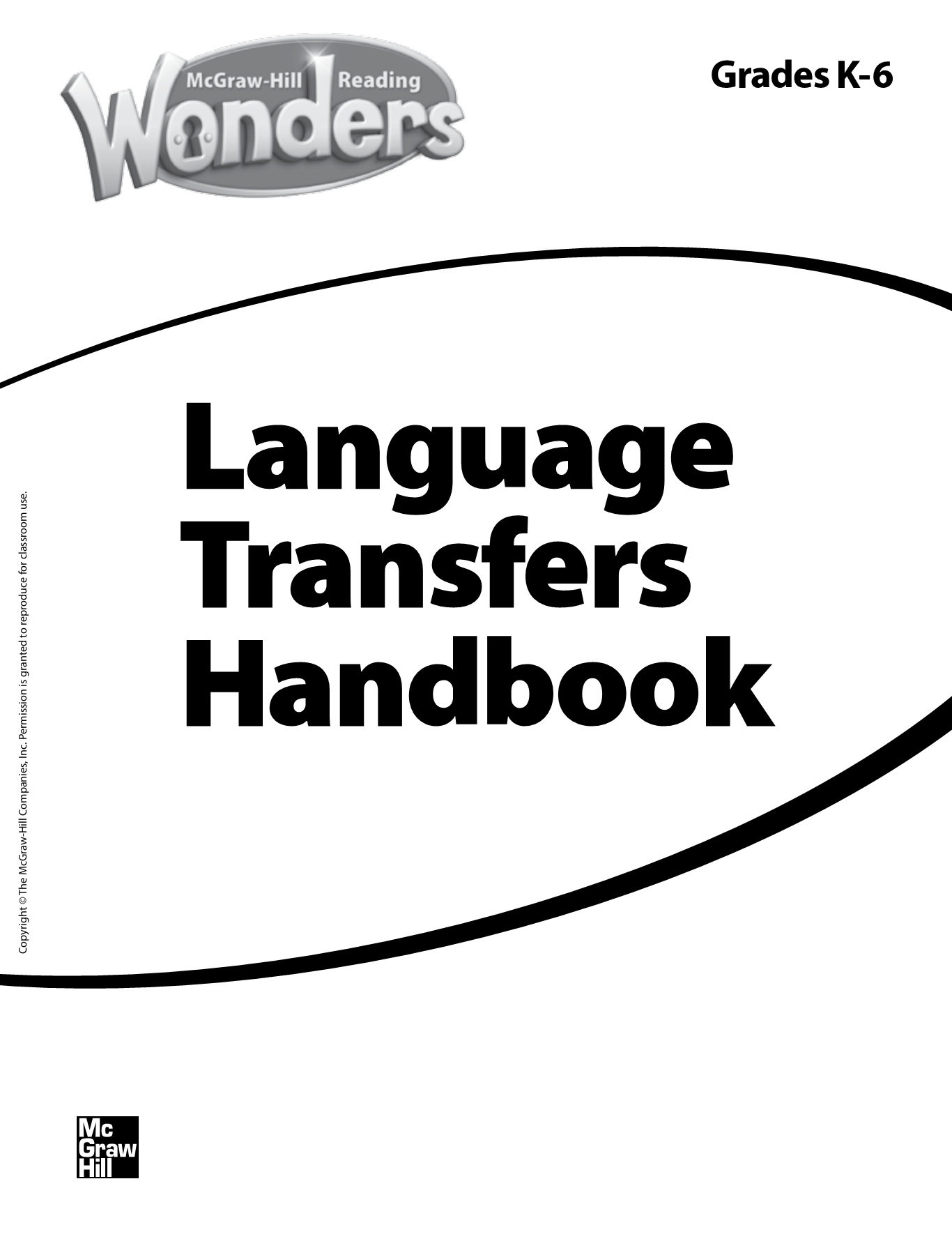 K 6 Language Transfers Handbook Pages 1 16 Text Version