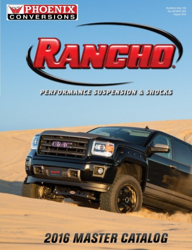 Rancho RS6554B-2 Suspension System