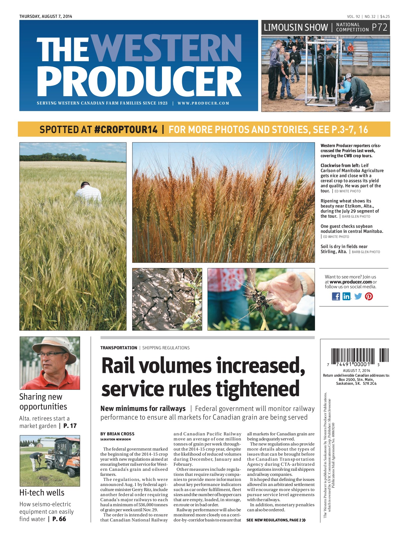 Western Producer 2014-08-07 Pages 1 - 50 - Text Version | AnyFlip